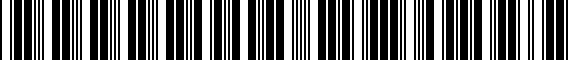 Barcode for 000096301MDSP