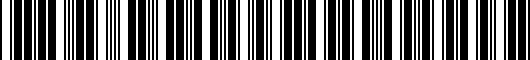 Barcode for 3C00617959B9