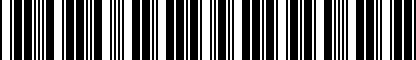 Barcode for DRG010850