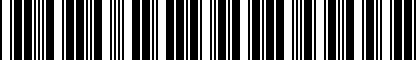 Barcode for DRG019389