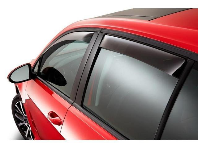 Diagram Side Window Deflector Kit - 4dr - Smoked (NPN072007) for your 1991 Volkswagen Golf
